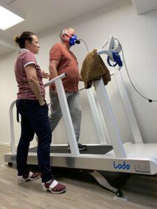 Helsetest - spaserende test av vo2maks nitelva fyslab lillestrøm